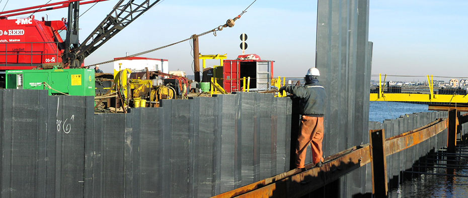 Synthetic Sheet Piles | BMC Gulf | Dubai, Abu Dhabi UAE
