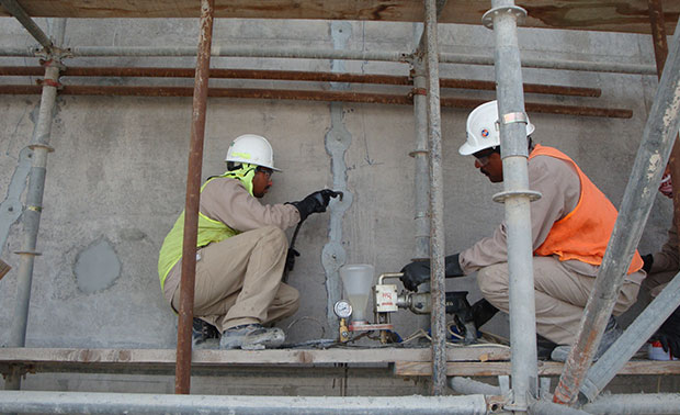 Concrete Crack Injection | BMC Gulf | Dubai, Abu Dhabi UAE