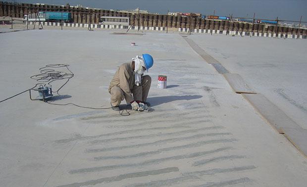 Concrete Crack Injection Bmc Gulf Dubai Abu Dhabi Uae