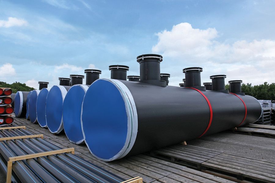 Agru Large Diameter Hdpe Piping Od 3 000 Mm Bmc Gulf